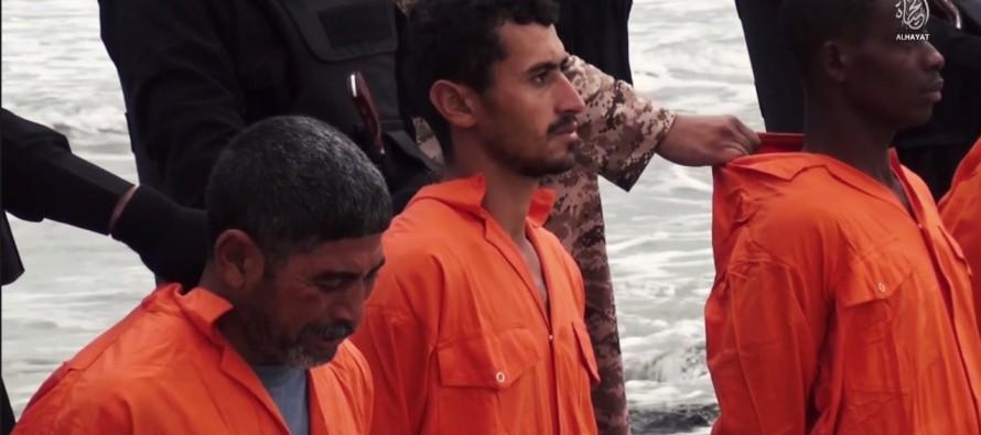 Ακραίοι τζιχαντιστές του ισλαμικού κράτους έσφαξαν 21 χριστιανούς