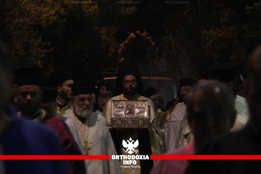 Η Λιτάνευση της Ι. Εικόνας της Αγίας Σοφίας στο Νέο Ψυχικό | ORTHODOXIA.INFO