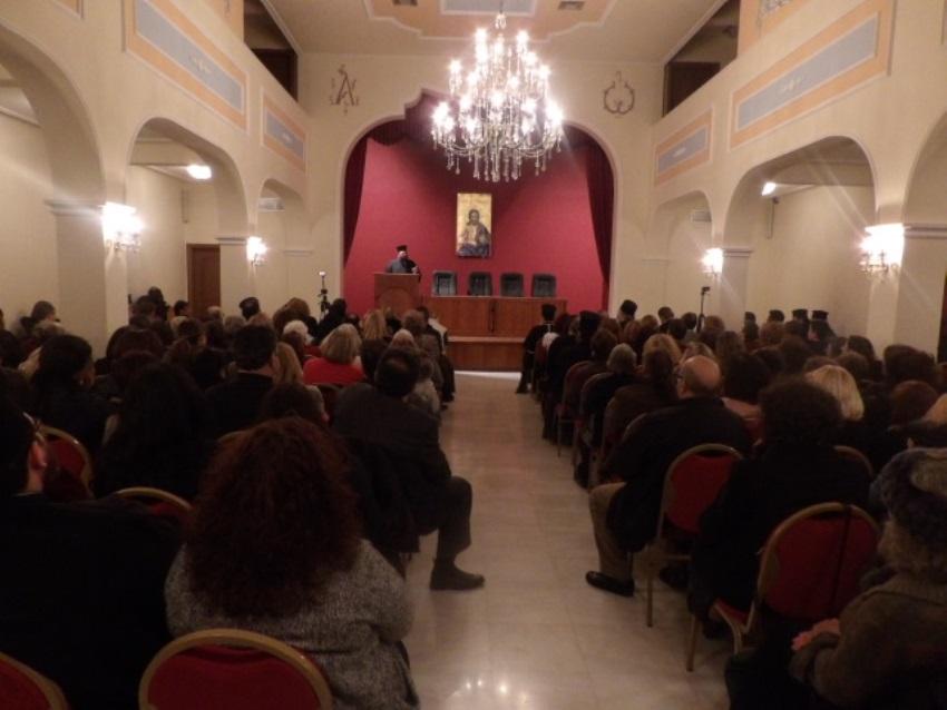 Ομιλία της ομότιμης καθηγήτριας του Πανεπιστημίου Αθηνών κας Μερόπης Σπυροπούλου