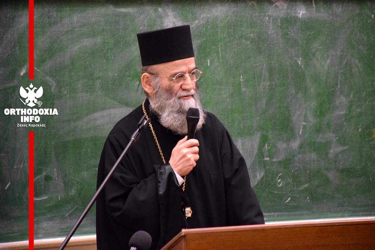ΟΡΘΟΔΟΞΙΑ INFO Ι Τιμή στον Άρχοντα Χ. Ταλιαδώρο από τη Θεολογική Σχολή ΑΠΘ