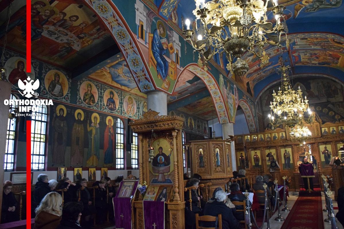 ΟΡΘΟΔΟΞΙΑ INFO Ι Φιλυριά Γουμένισσας: Εορτάζοντας την Καθαρά Δευτέρα... στον ναό!
