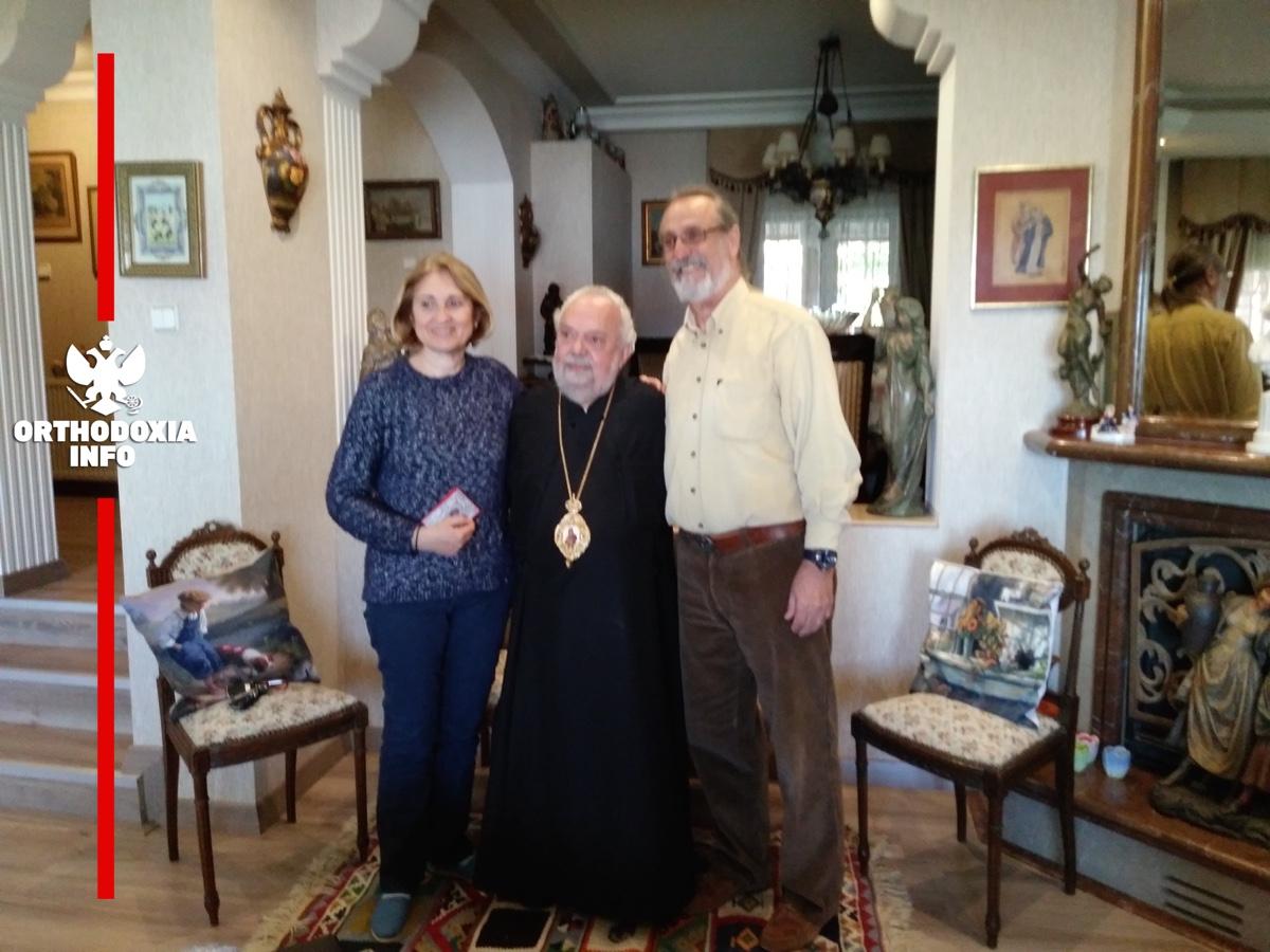 Θερμή υποδοχή από οικογένεια Ελλήνων στη Σμύρνη