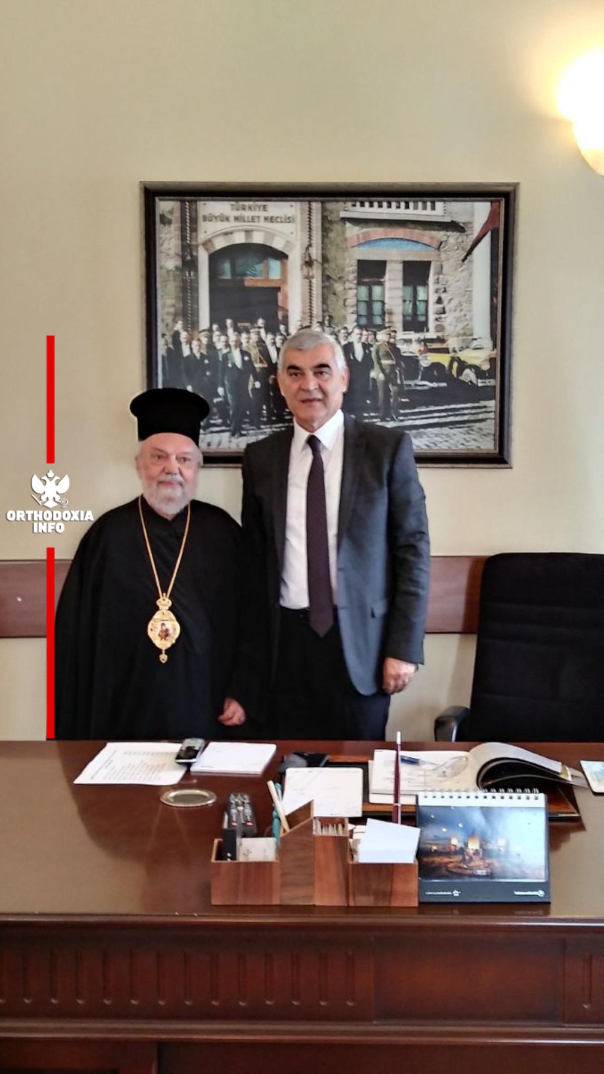 Με τον Διευθυντή Τουρισμού και Πολιτισμού Σμύρνης κ. Murat Karacanta