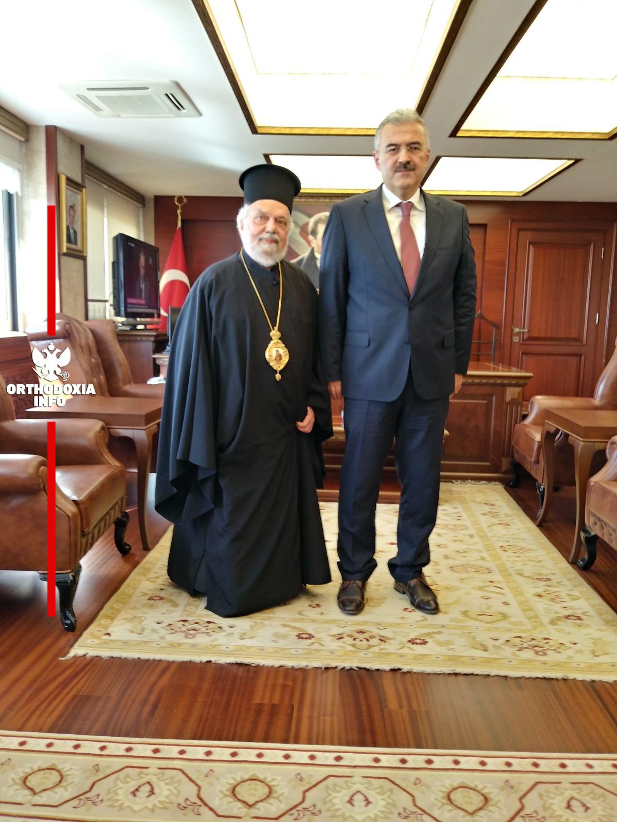 Με τον Νομάρχη Σμύρνης κ. Erol Ayyildiz