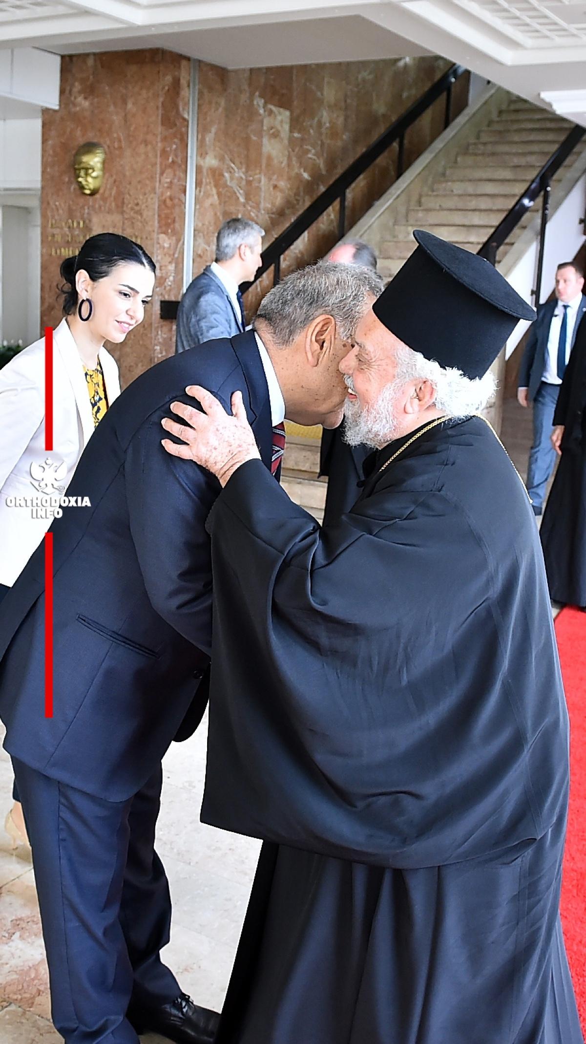 Με τον Μητροπολιτικό Δήμαρχο Σμύρνης κ. Aziz Kolaoglu