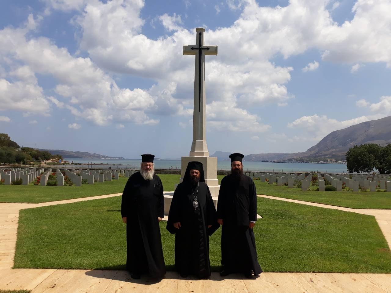 ΟΡΘΟΔΟΞΙΑ INFO Ι Τρισάγιο στην μνήμη των Νεοζηλανδών στρατιωτών που έπεσαν στην μάχη της Κρήτης
