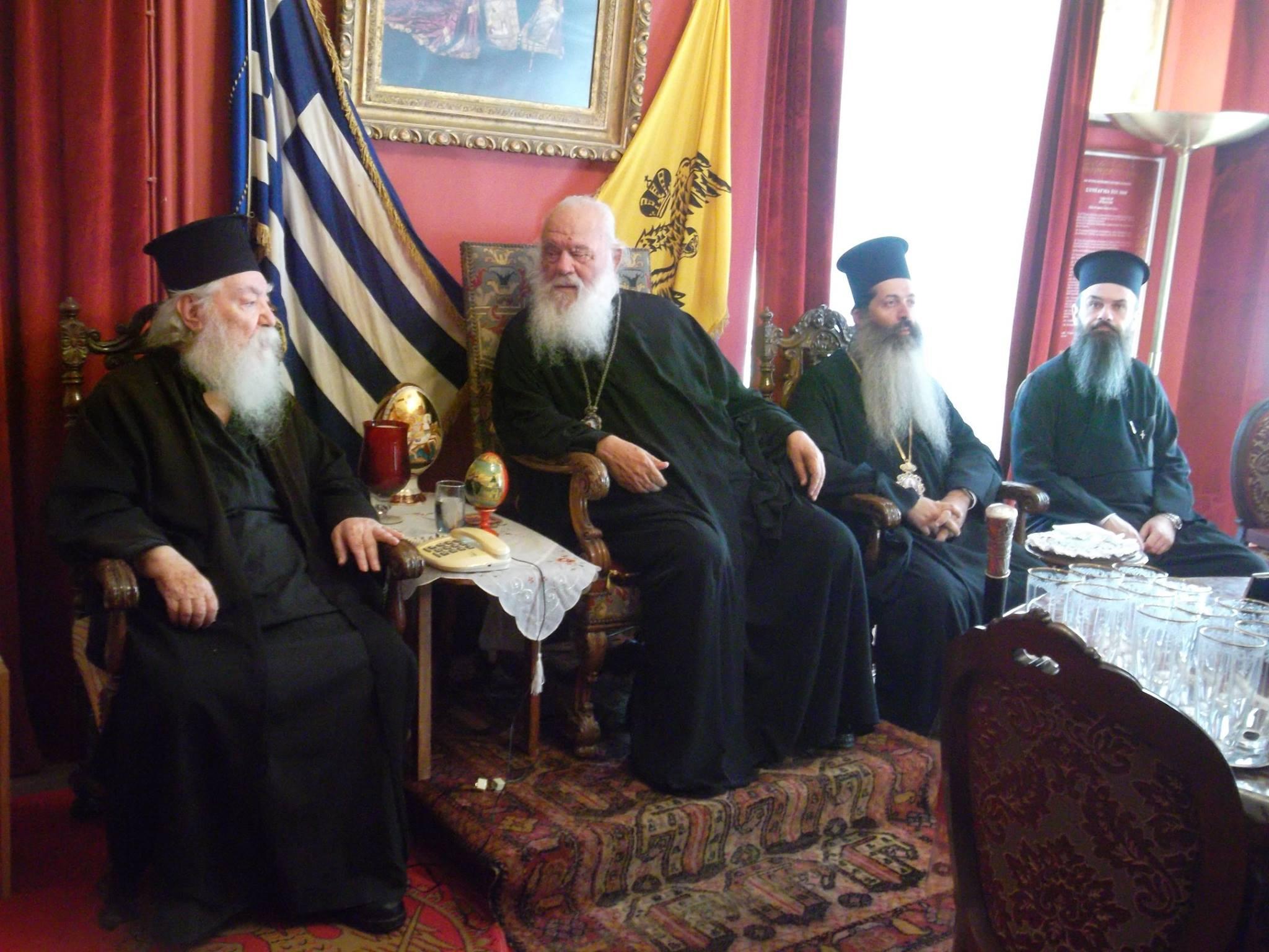 ΟΡΘΟΔΟΞΙΑ INFO I Τον μητροπολίτη Λήμνου επισκέφθηκε ο Αρχιεπίσκοπος Αθηνών
