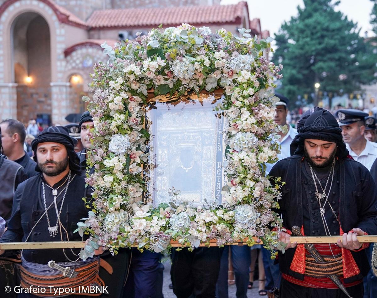 ΟΡΘΟΔΟΞΙΑ INFO Ι Βέρμιο: Πανηγυρικός εσπερινός στην Παναγία Σουμελά