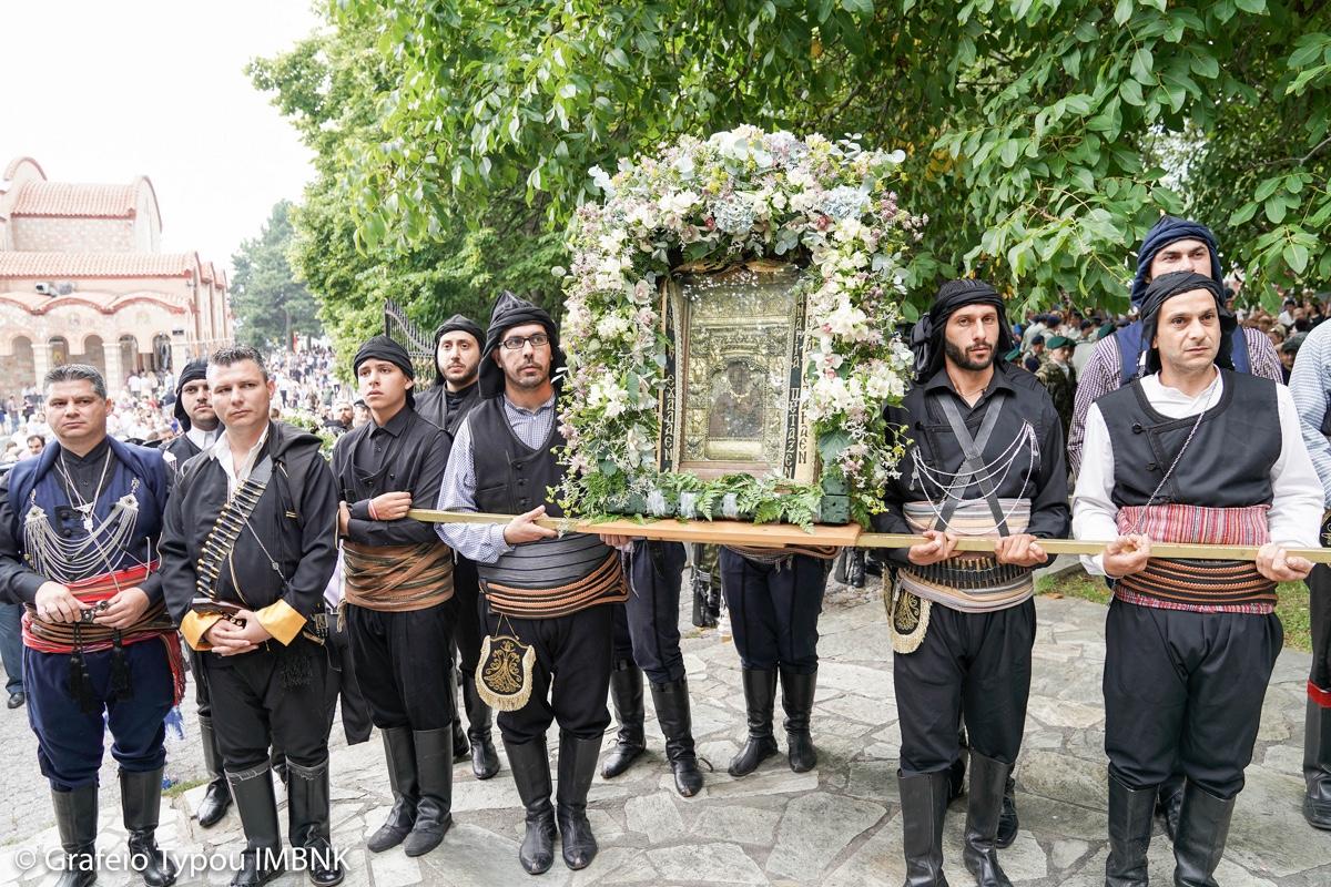 ΟΡΘΟΔΟΞΙΑ INFO Ι Η λαμπρή πανήγυρις της Παναγίας Σουμελά στο Βέρμιο