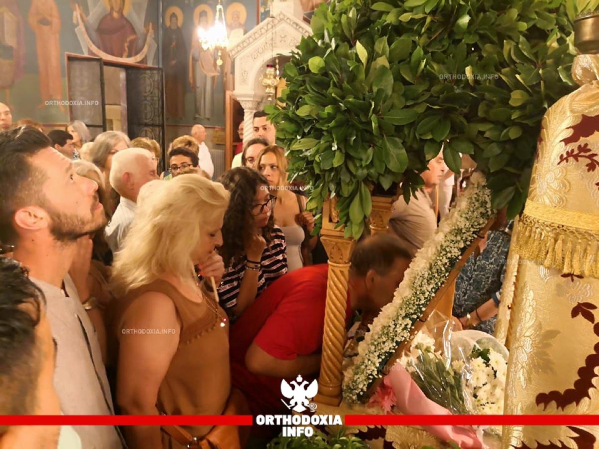 ΟΡΘΟΔΟΞΙΑ INFO Ι Παραμονή της Παναγίας στην Ηλιούπολη Αττικής