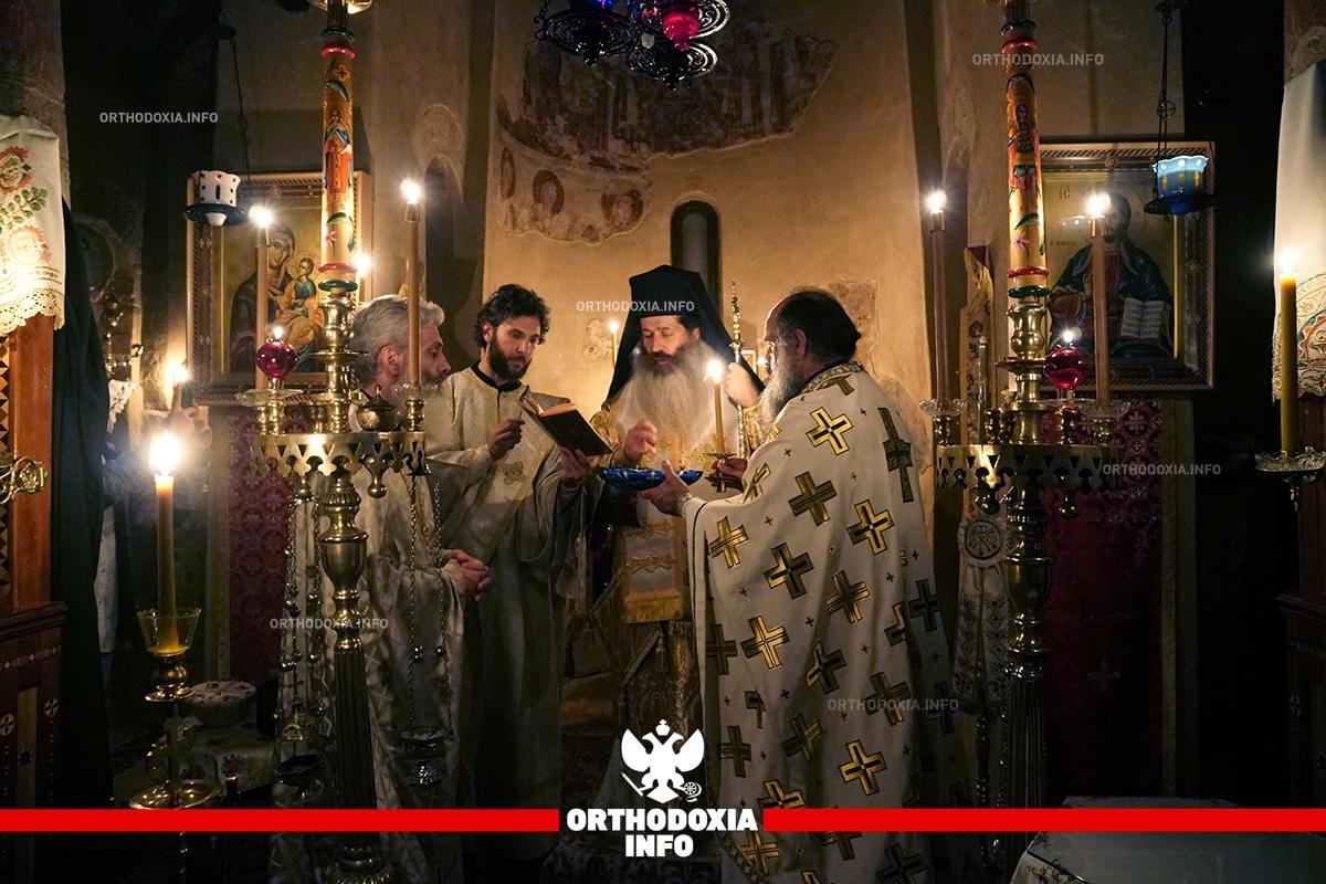 ΟΡΘΟΔΟΞΙΑ INFO Ι Αγρυπνία στην Μονή Αστερίου για την μνήμη του αγίου Γοβδελαά
