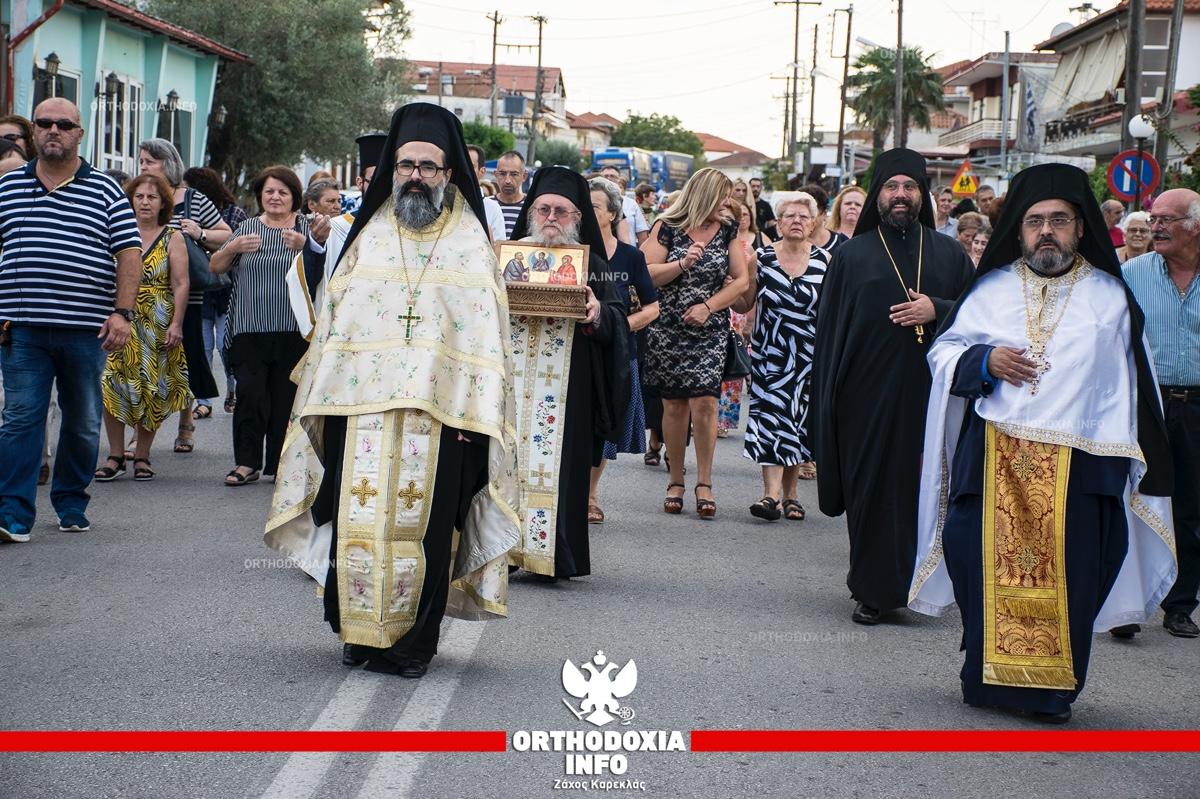 ΟΡΘΟΔΟΞΙΑ INFO Ι Λείψανα των αγίων Θεοπατόρων από την Κύπρο στο Πρόχωμα Θεσσαλονίκης