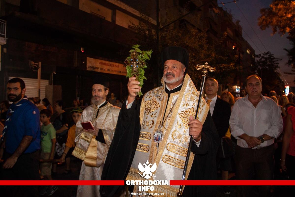 ΟΡΘΟΔΟΞΙΑ INFO Ι Η λιτανεία του Τιμίου Σταυρού στην Κολοκυνθού