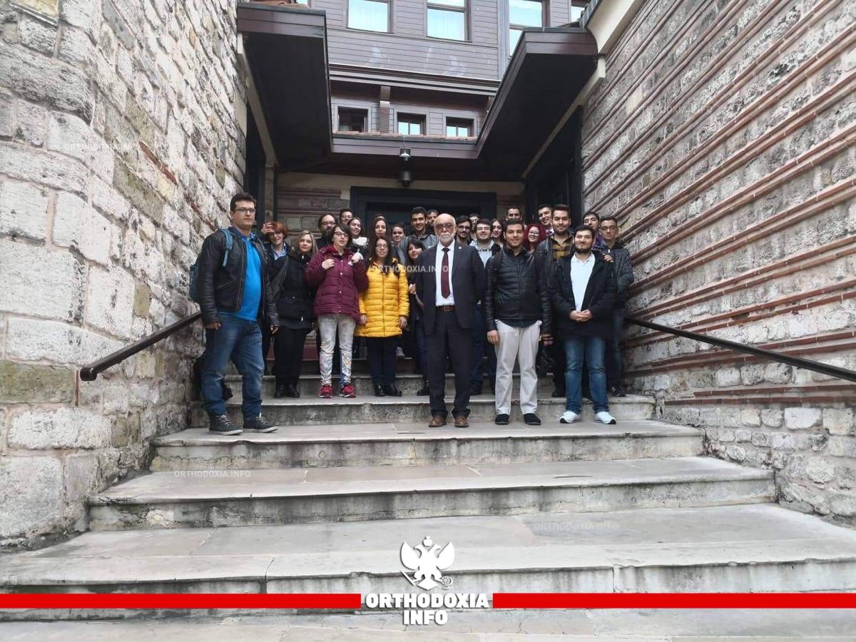 ΟΡΘΟΔΟΞΙΑ INFO | Φοιτητές του Τμήματος Θεολογίας Α.Π.Θ. στον Οικουμενικό Πατριάρχη