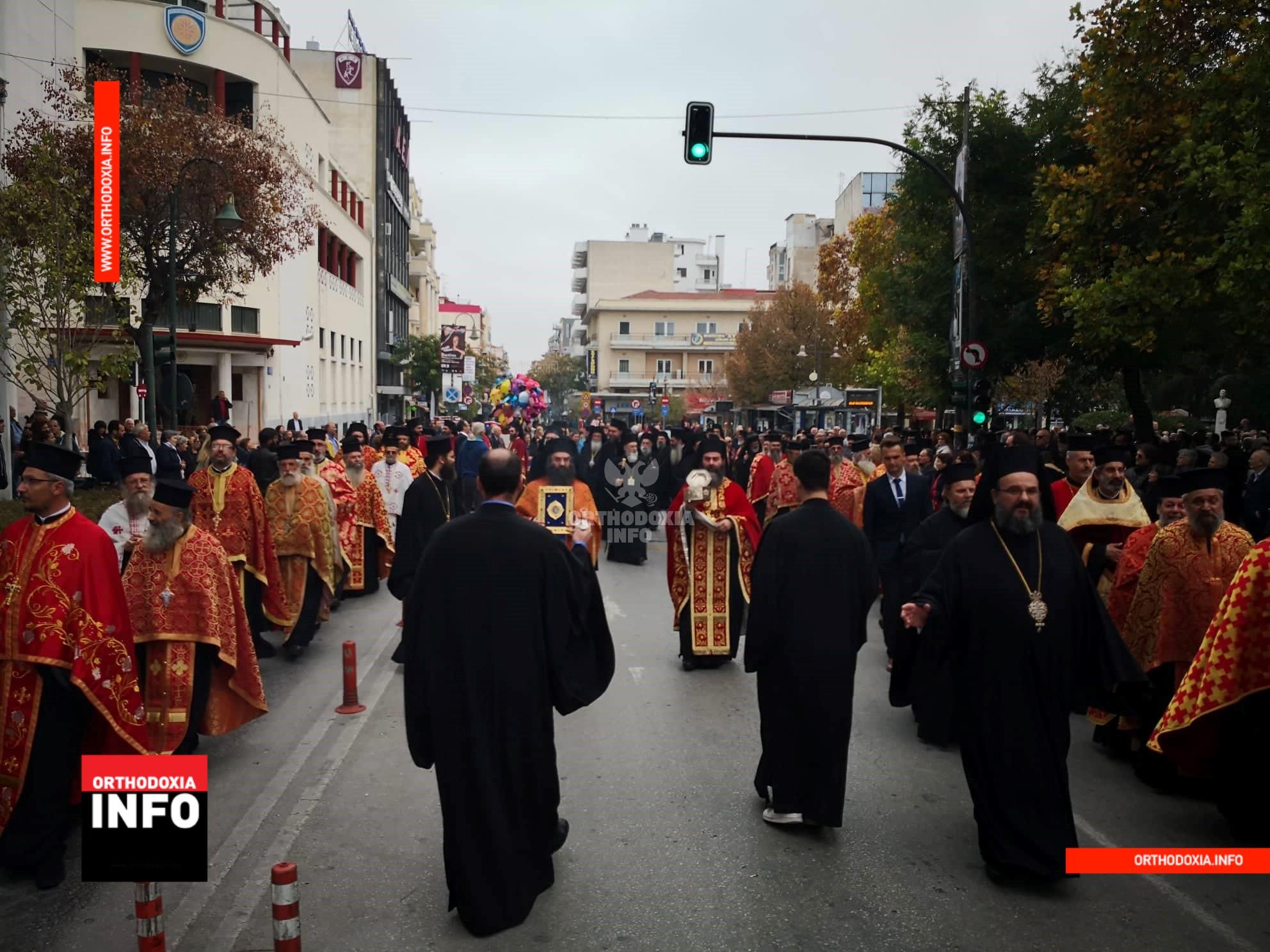 Bishop Ieronymos enthroned as metropolitan of Larissa