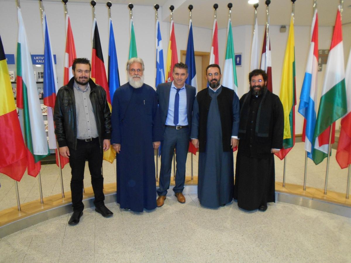 ΟΡΘΟΔΟΞΙΑ INFO | Στο Ευρωπαϊκό Κοινοβούλιο ο μητροπολίτης Ιλίου