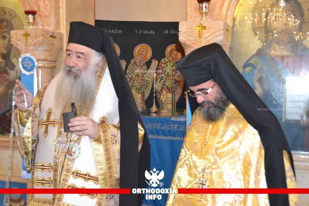 ΟΡΘΟΔΟΞΙΑ INFO | Μνημόσυνο για τον μακαριστό Αρχιεπίσκοπο Χριστόδουλο στην Ιορδανία