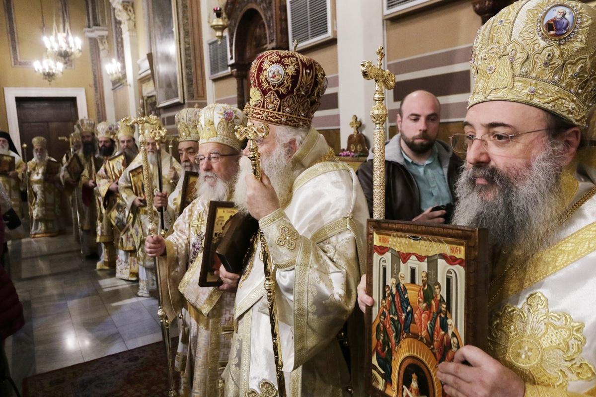 ΟΡΘΟΔΟΞΙΑ INFO | Η Κυριακή της Ορθοδοξίας στον Καθεδρικό της Αθήνας- Καταδίκη των επιθέσεων στη Ν. Ζηλανδία