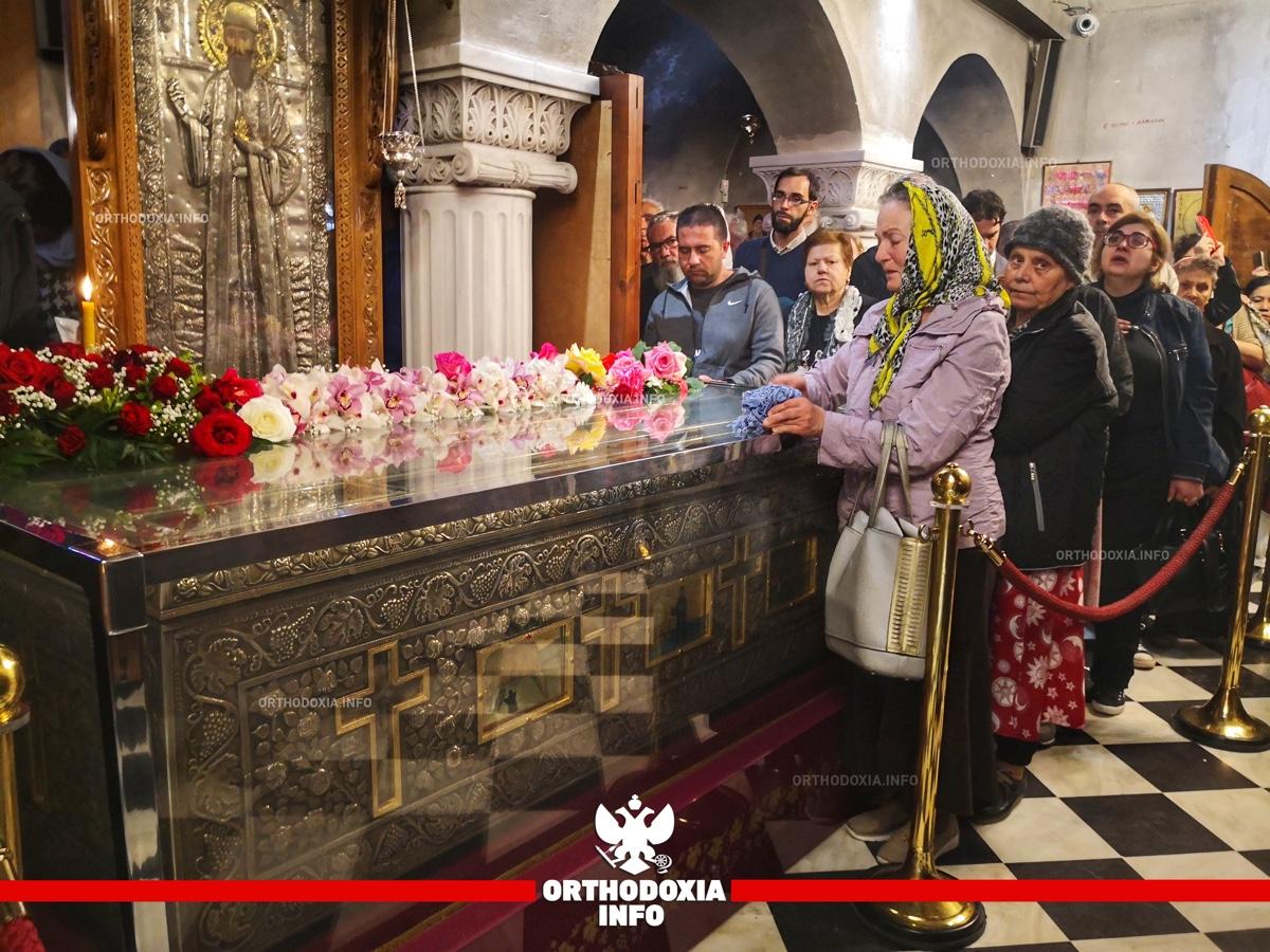 ΟΡΘΟΔΟΞΙΑ INFO | Νέα Μάκρη: Η εορτή του Αγίου Εφραίμ στον τόπου του μαρτυρίου του