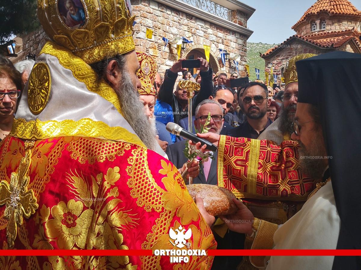 ΟΡΘΟΔΟΞΙΑ INFO   Νέα Μάκρη: Η εορτή του Αγίου Εφραίμ στον τόπου του μαρτυρίου του