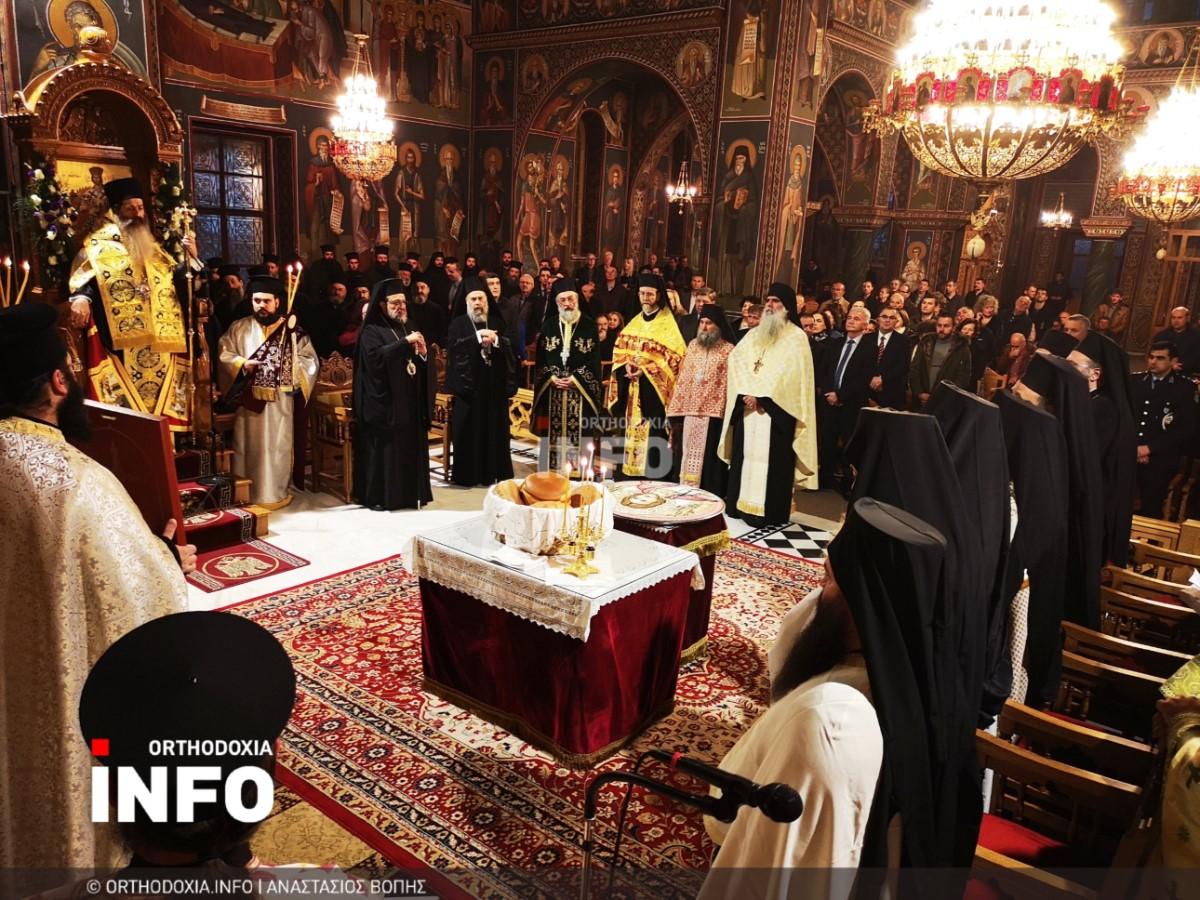 onomastiria stagon 15 - Λαμπρά τα ονομαστήρια του μητροπολίτη Σταγών Θεοκλήτου
