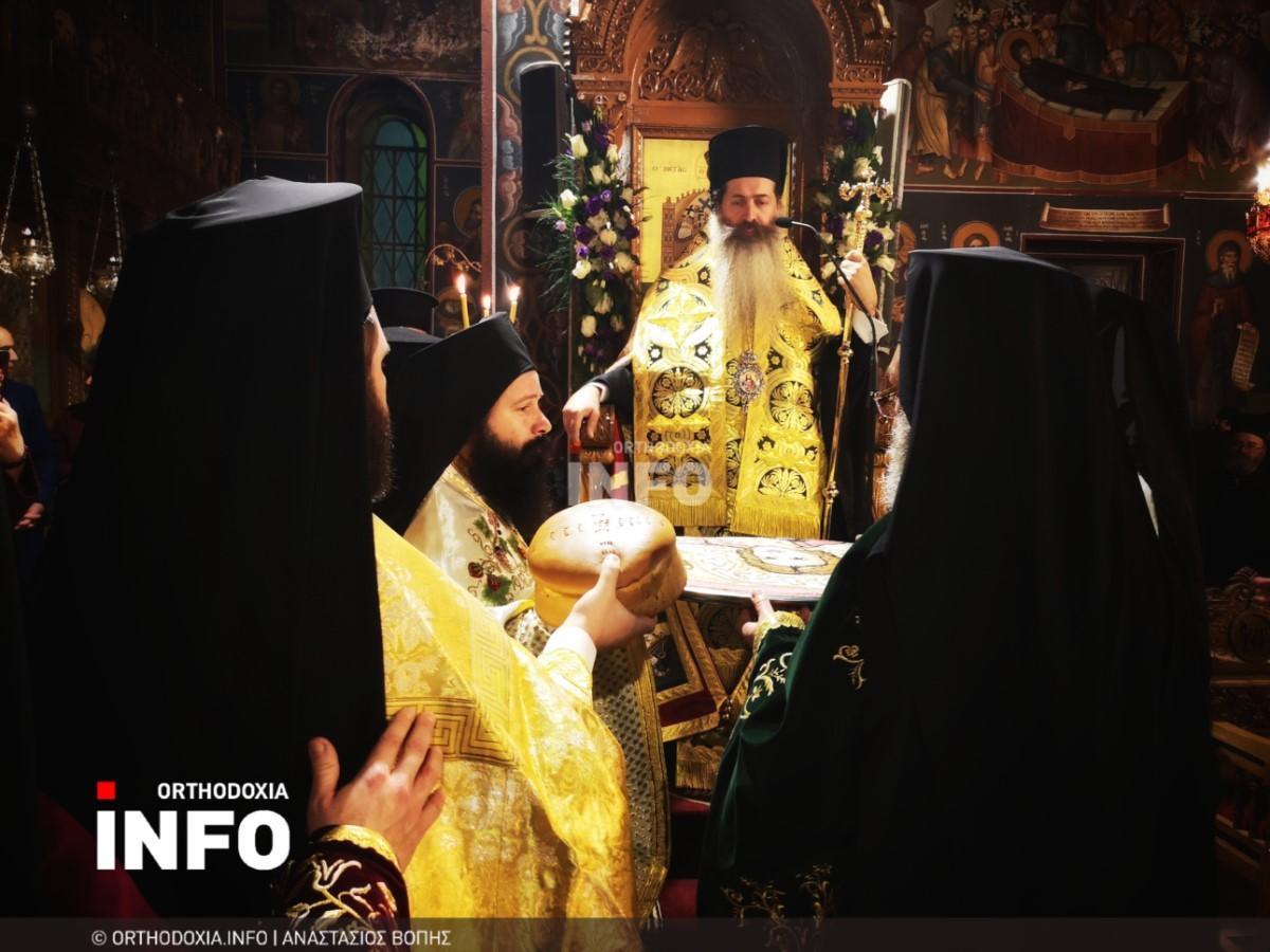 onomastiria stagon 16 - Λαμπρά τα ονομαστήρια του μητροπολίτη Σταγών Θεοκλήτου