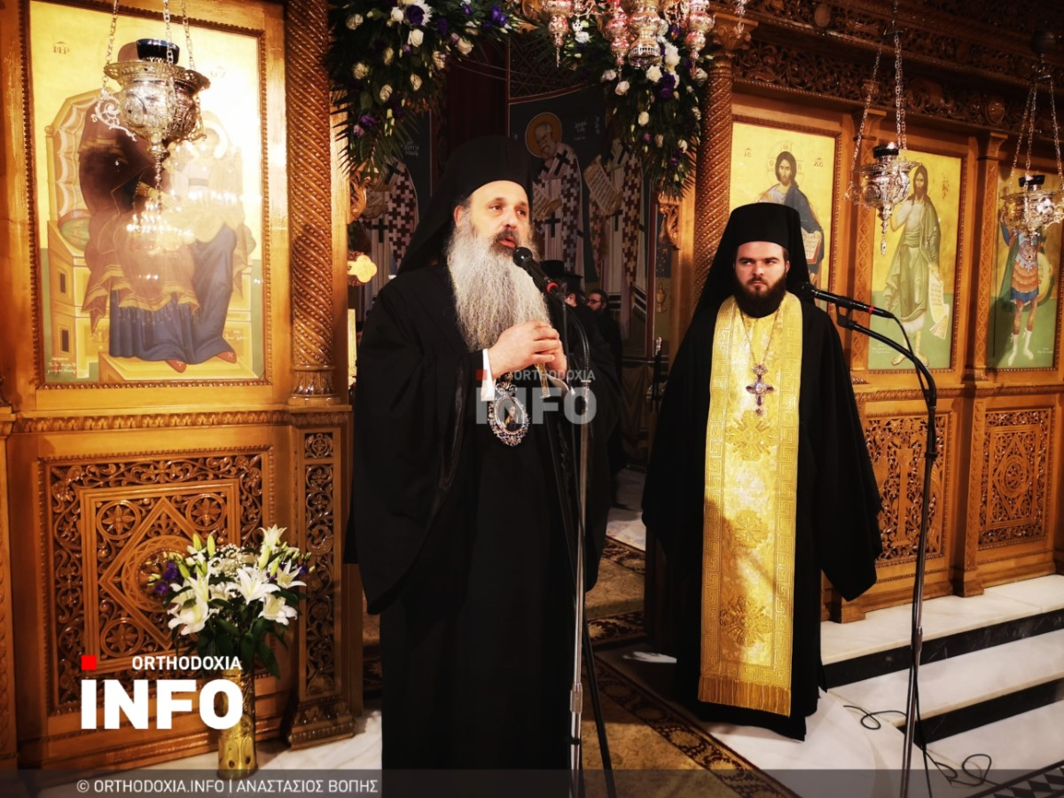 onomastiria stagon 18 - Λαμπρά τα ονομαστήρια του μητροπολίτη Σταγών Θεοκλήτου