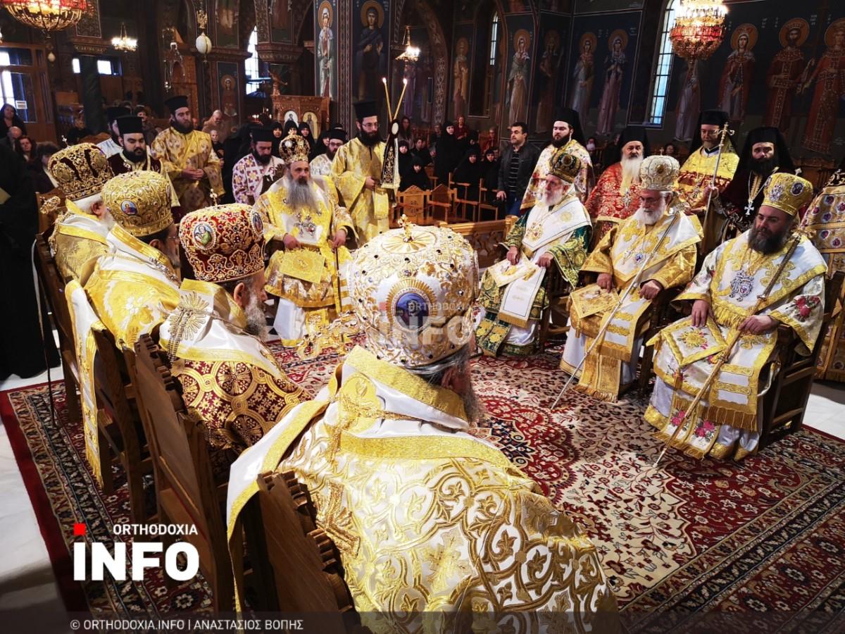 onomastiria stagon 23 - Λαμπρά τα ονομαστήρια του μητροπολίτη Σταγών Θεοκλήτου
