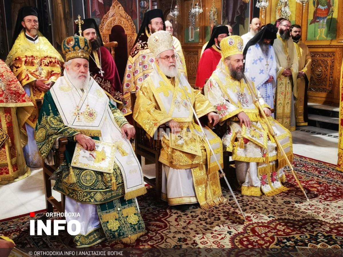 onomastiria stagon 24 - Λαμπρά τα ονομαστήρια του μητροπολίτη Σταγών Θεοκλήτου