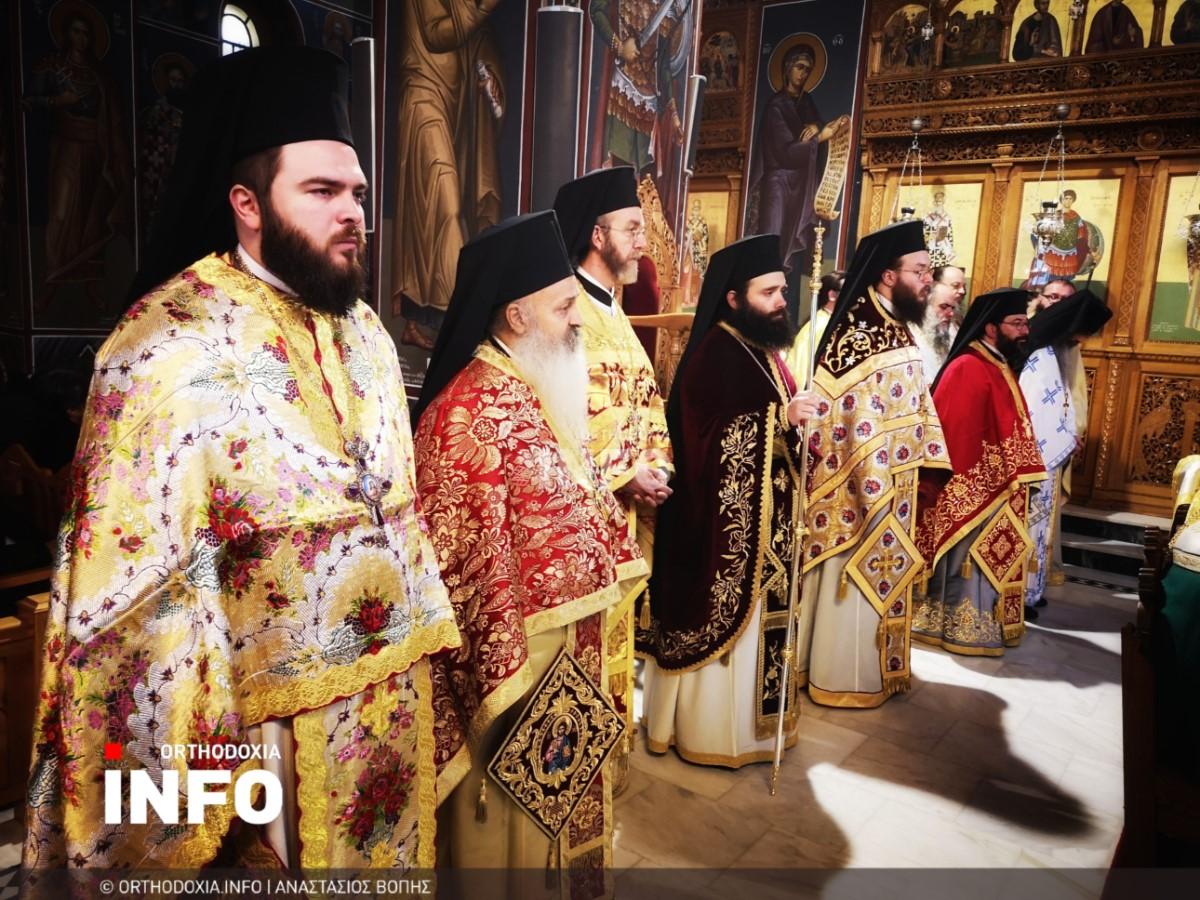 onomastiria stagon 25 - Λαμπρά τα ονομαστήρια του μητροπολίτη Σταγών Θεοκλήτου