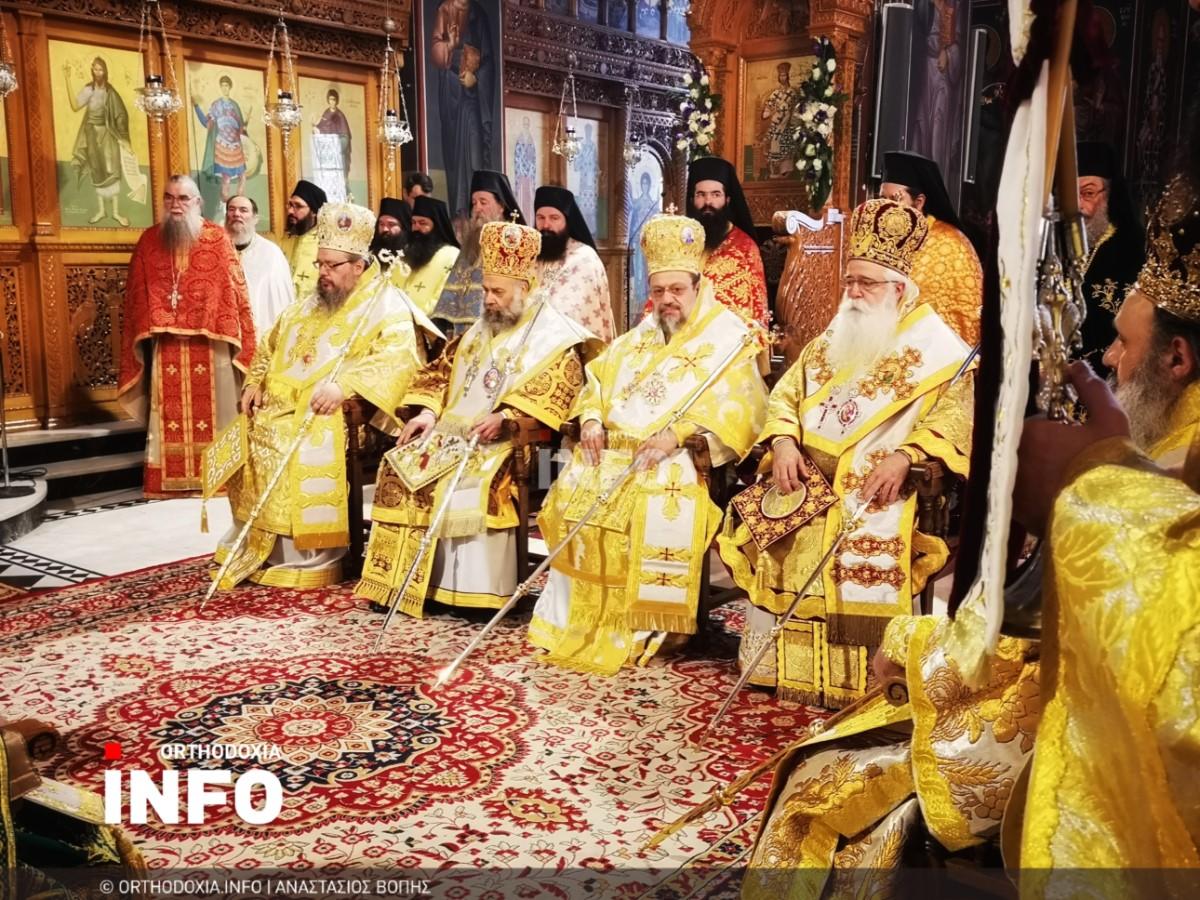 onomastiria stagon 26 - Λαμπρά τα ονομαστήρια του μητροπολίτη Σταγών Θεοκλήτου