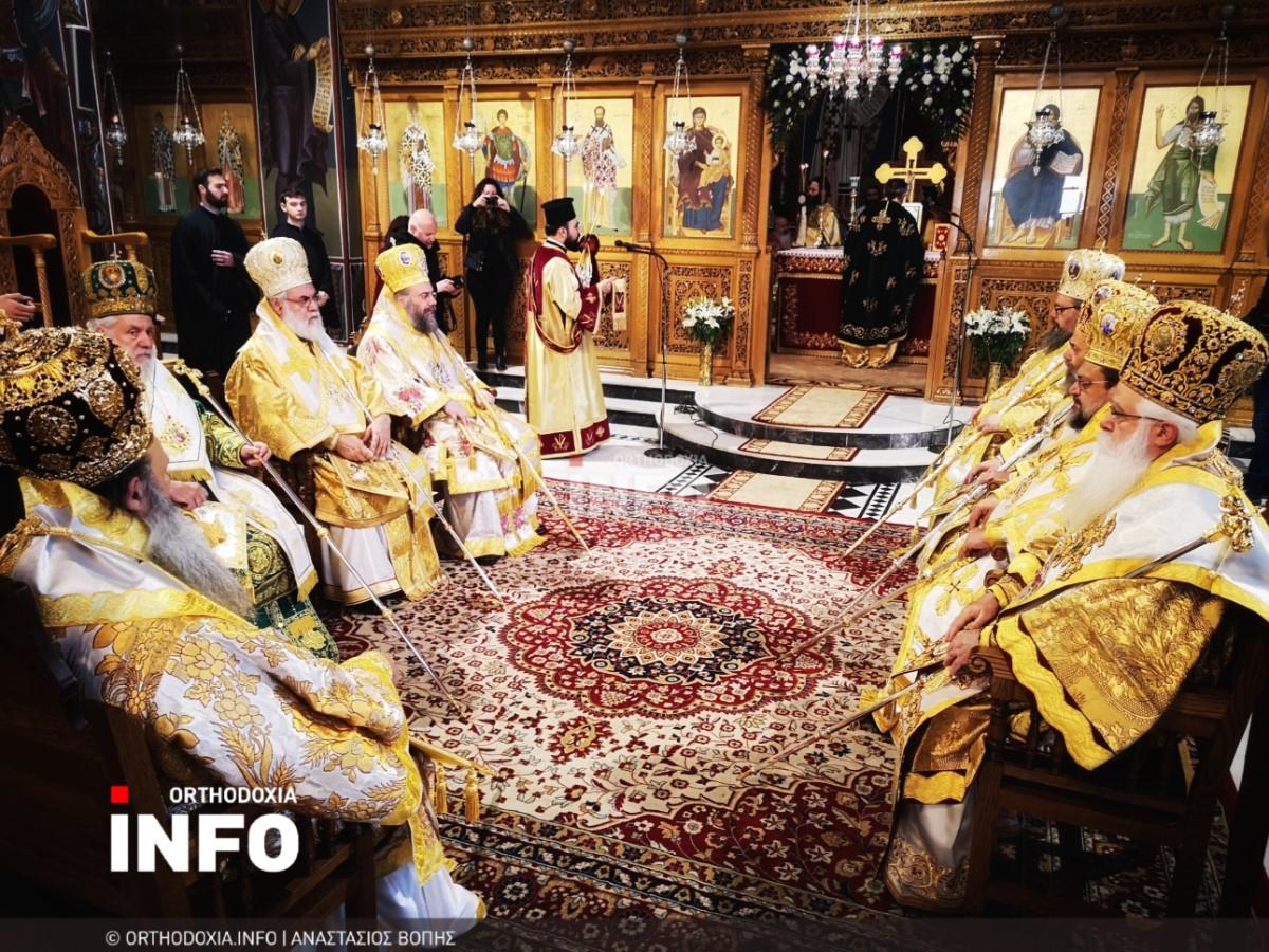 onomastiria stagon 28 - Λαμπρά τα ονομαστήρια του μητροπολίτη Σταγών Θεοκλήτου