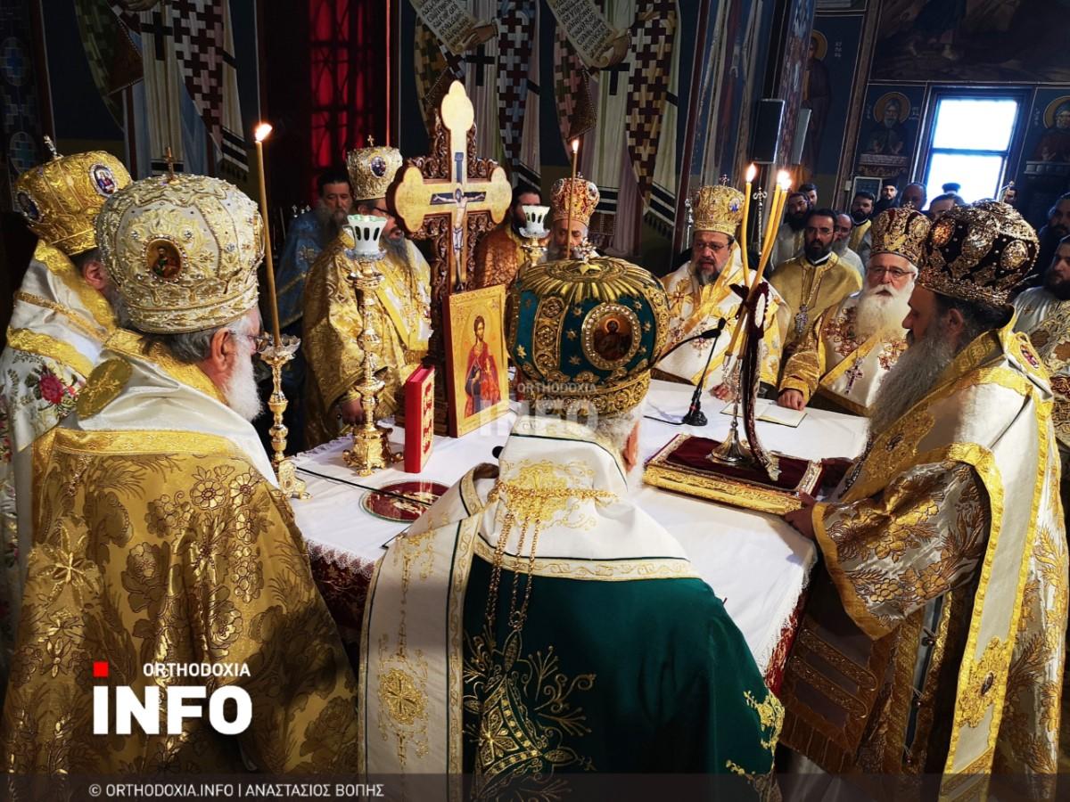onomastiria stagon 30 - Λαμπρά τα ονομαστήρια του μητροπολίτη Σταγών Θεοκλήτου