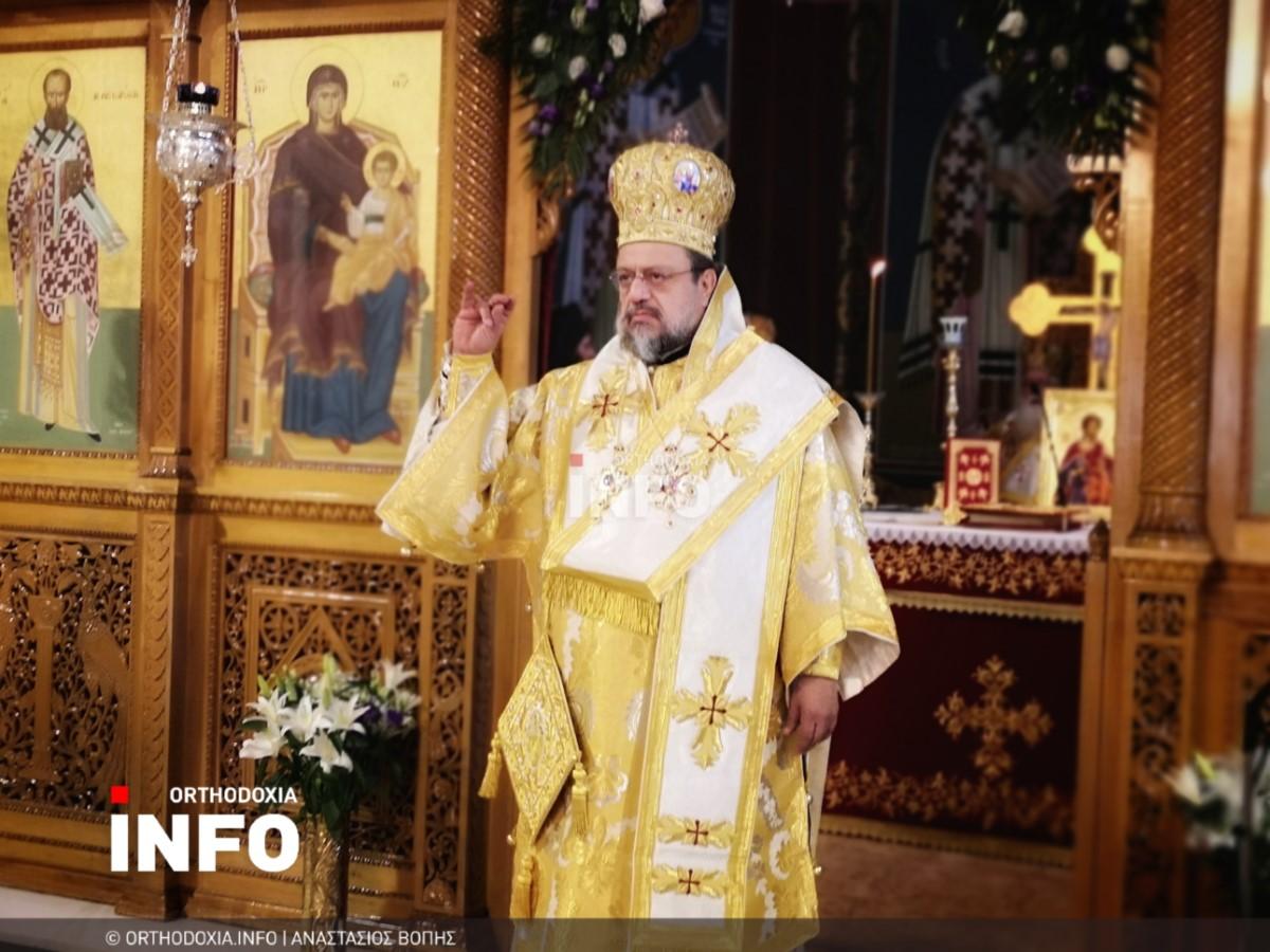 onomastiria stagon 36 - Λαμπρά τα ονομαστήρια του μητροπολίτη Σταγών Θεοκλήτου