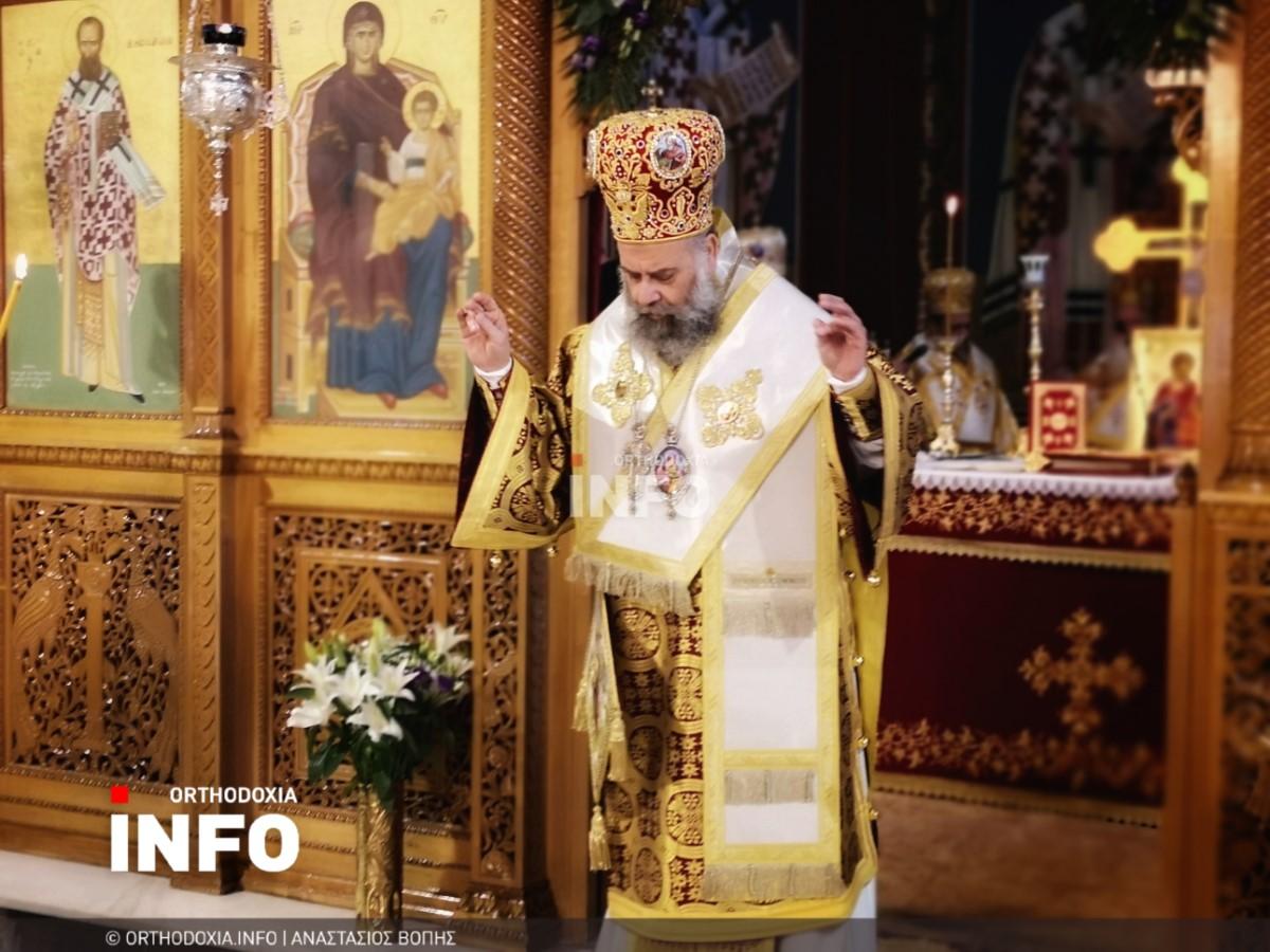 onomastiria stagon 37 - Λαμπρά τα ονομαστήρια του μητροπολίτη Σταγών Θεοκλήτου