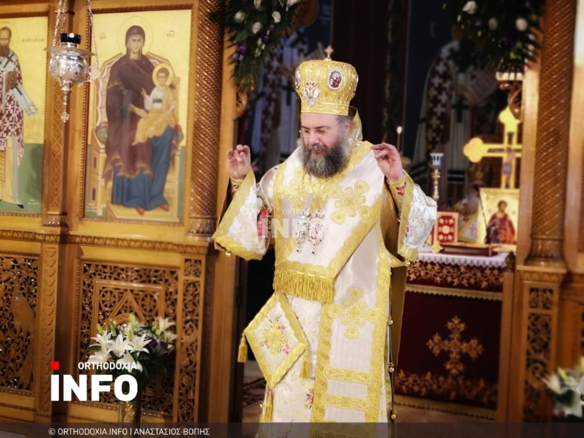 onomastiria stagon 38 - Λαμπρά τα ονομαστήρια του μητροπολίτη Σταγών Θεοκλήτου