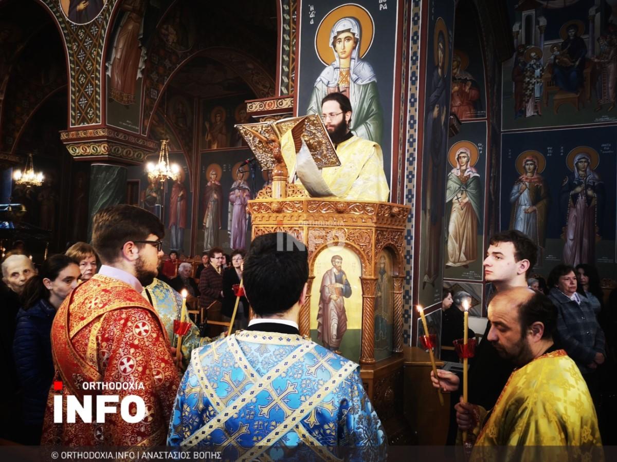 onomastiria stagon 42 - Λαμπρά τα ονομαστήρια του μητροπολίτη Σταγών Θεοκλήτου