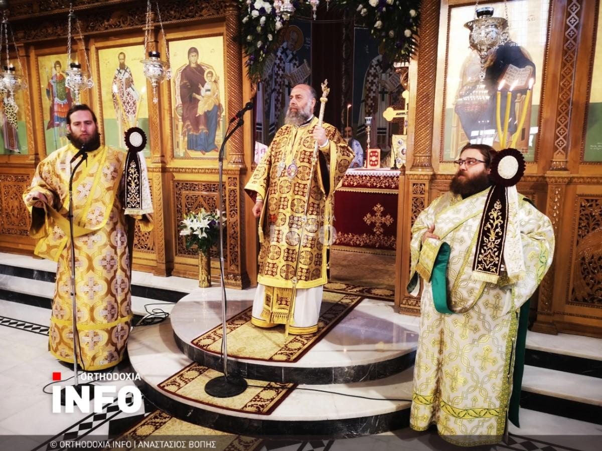 onomastiria stagon 44 - Λαμπρά τα ονομαστήρια του μητροπολίτη Σταγών Θεοκλήτου