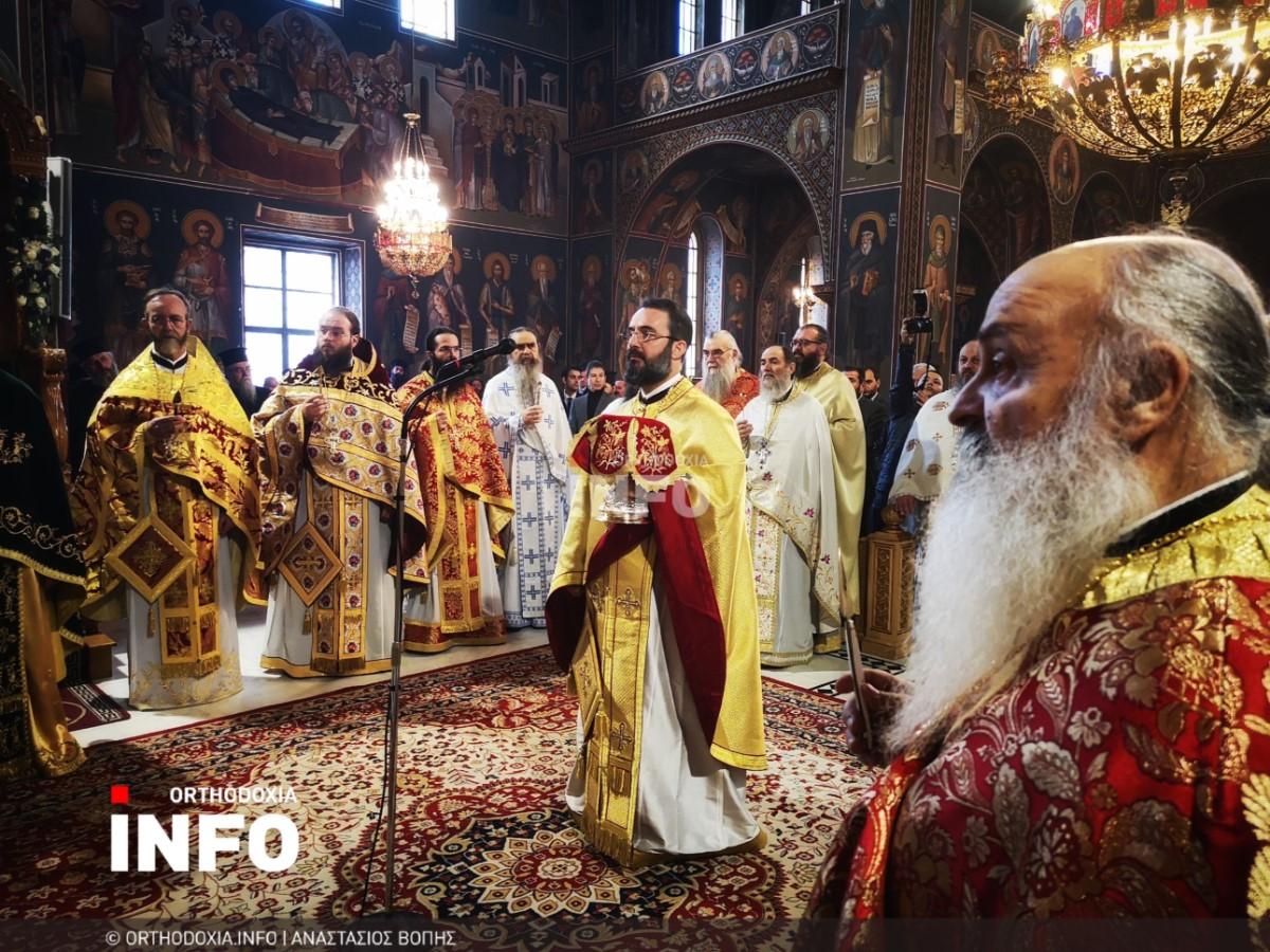 onomastiria stagon 48 - Λαμπρά τα ονομαστήρια του μητροπολίτη Σταγών Θεοκλήτου