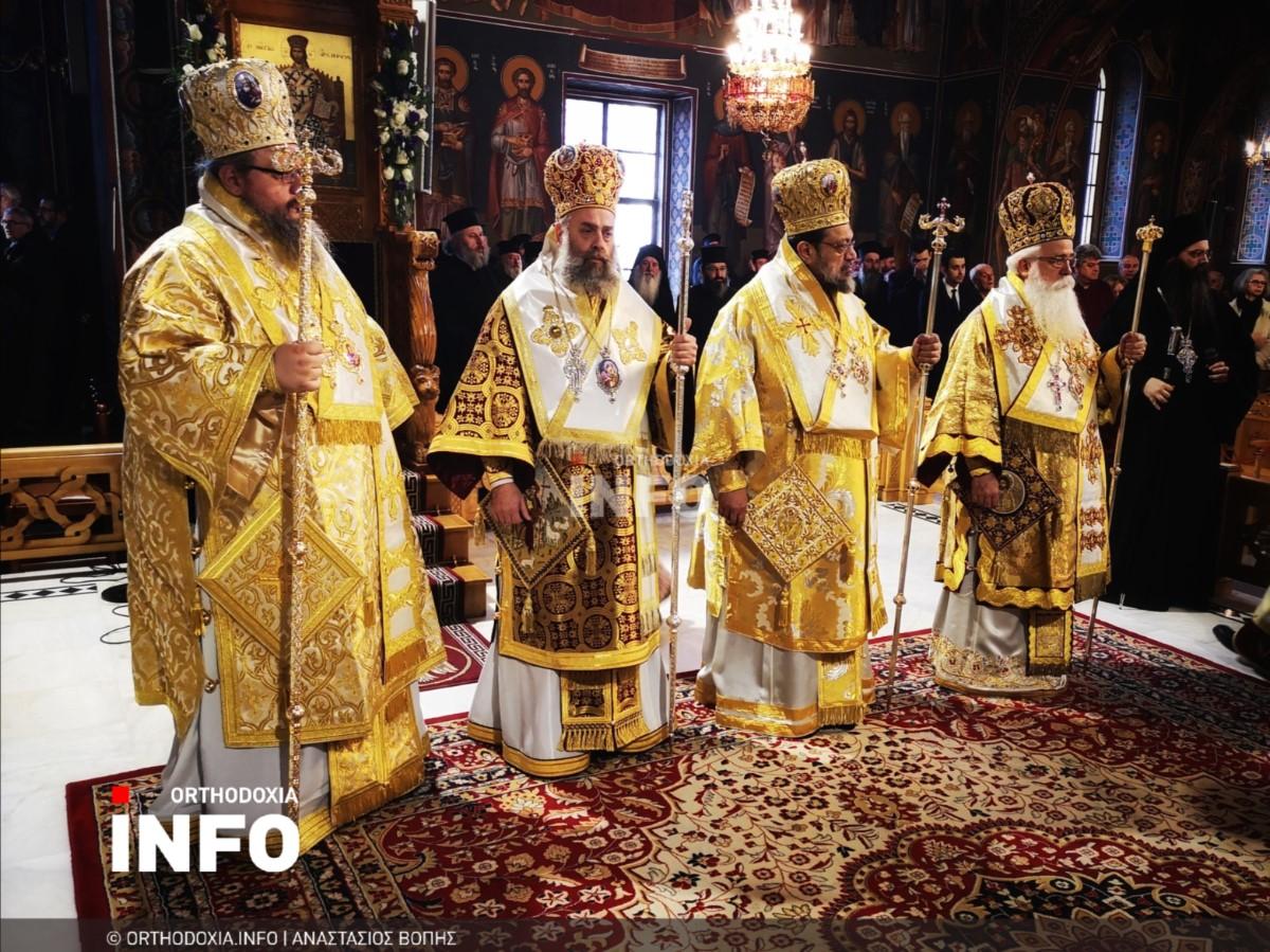 onomastiria stagon 51 - Λαμπρά τα ονομαστήρια του μητροπολίτη Σταγών Θεοκλήτου