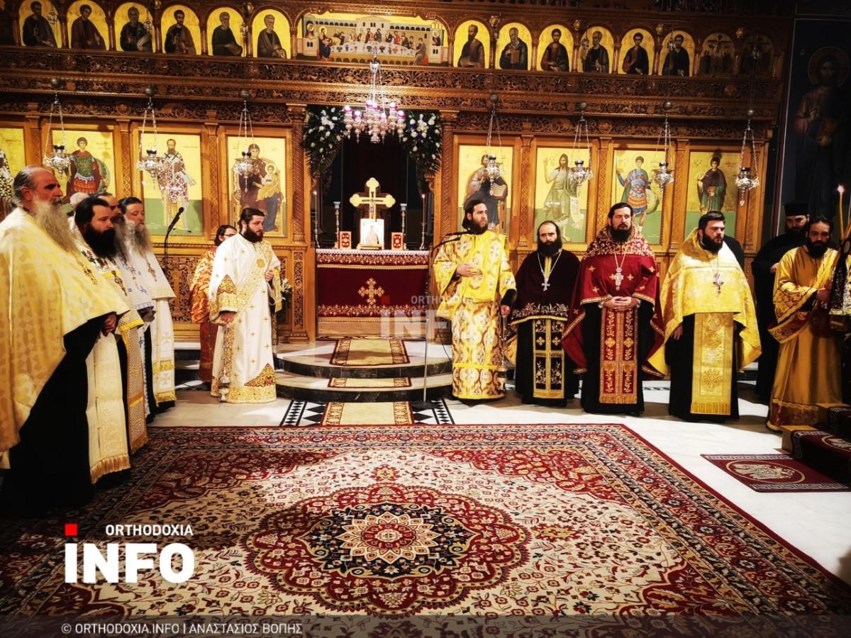 onomastiria stagon 7 - Λαμπρά τα ονομαστήρια του μητροπολίτη Σταγών Θεοκλήτου