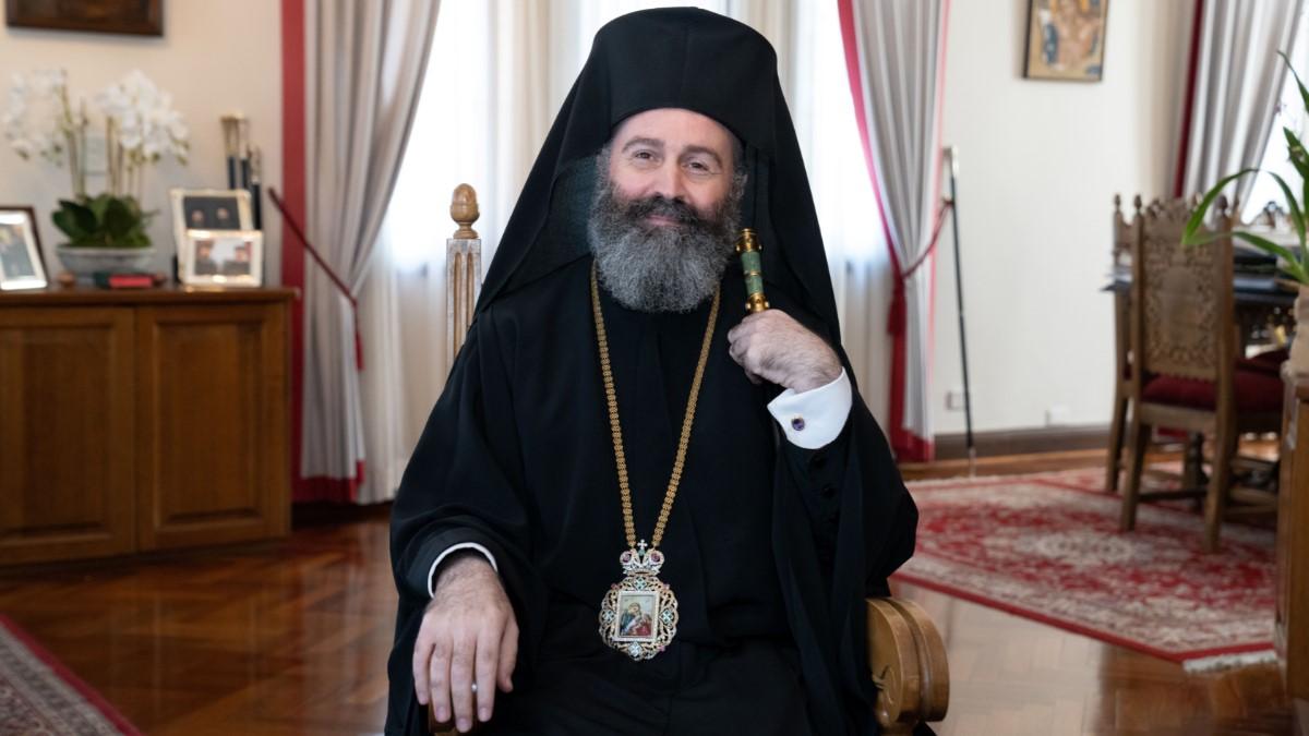 Ο αρχιεπίσκοπος Αυστραλίας επισκέφθηκε τον αρχιεπίσκοπο Ειρηναίο - ΟΡΘΟΔΟΞΙΑ INFO