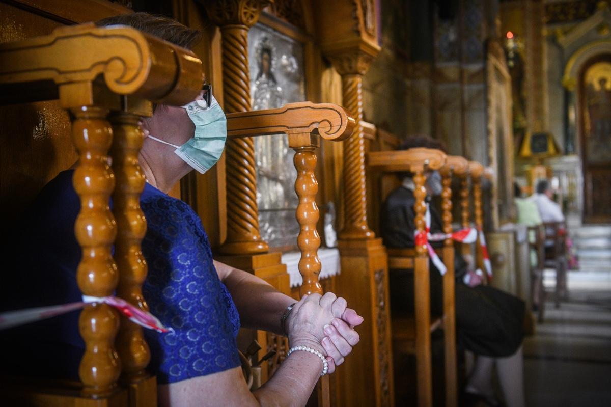 Σκέψεις στην κυβέρνηση για υποχρεωτική μάσκα στους ναούς - ΟΡΘΟΔΟΞΙΑ INFO