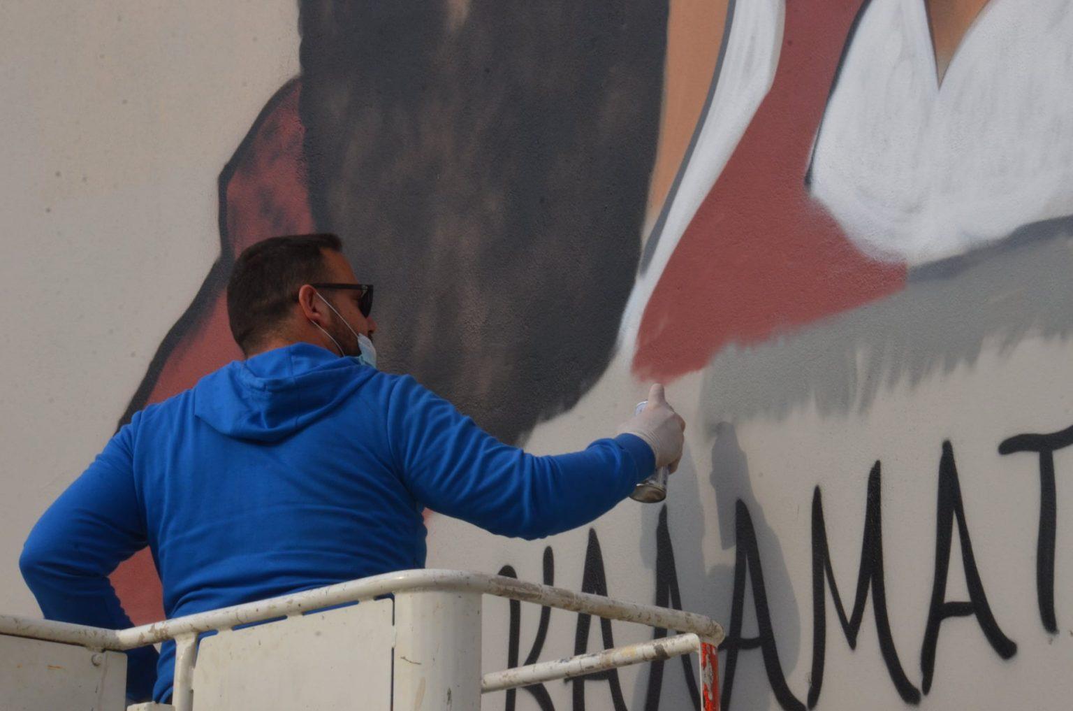ΚΑΛΑΜΑΤΑ: Οι ήρωες του '21 σε γκράφιτι δίπλα από τους Αγίους Αποστόλους -  ΟΡΘΟΔΟΞΙΑ INFO