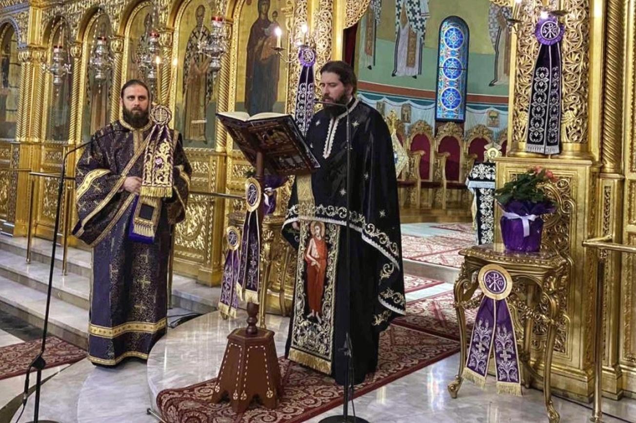 """1 - Λαρίσης: """"Ο Χριστός στην εικόνα του Νυμφίου είναι ο καθρέφτης της δικής μας ψυχής"""""""