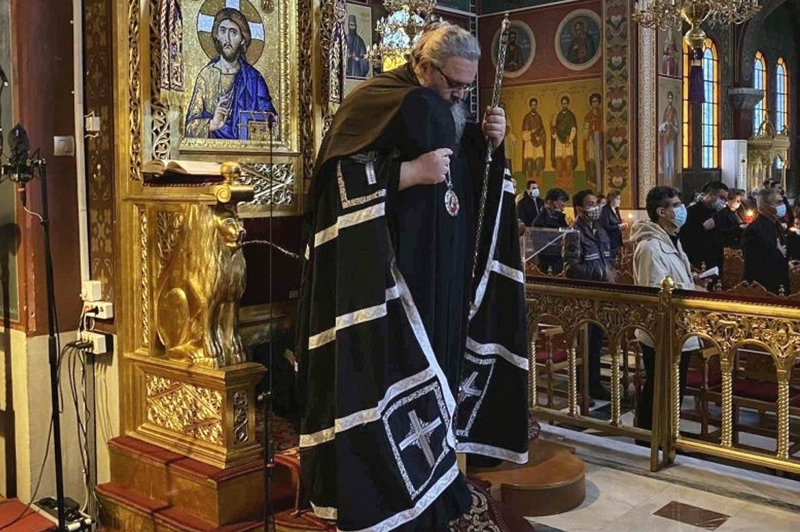 """4 - Λαρίσης: """"Ο Χριστός στην εικόνα του Νυμφίου είναι ο καθρέφτης της δικής μας ψυχής"""""""