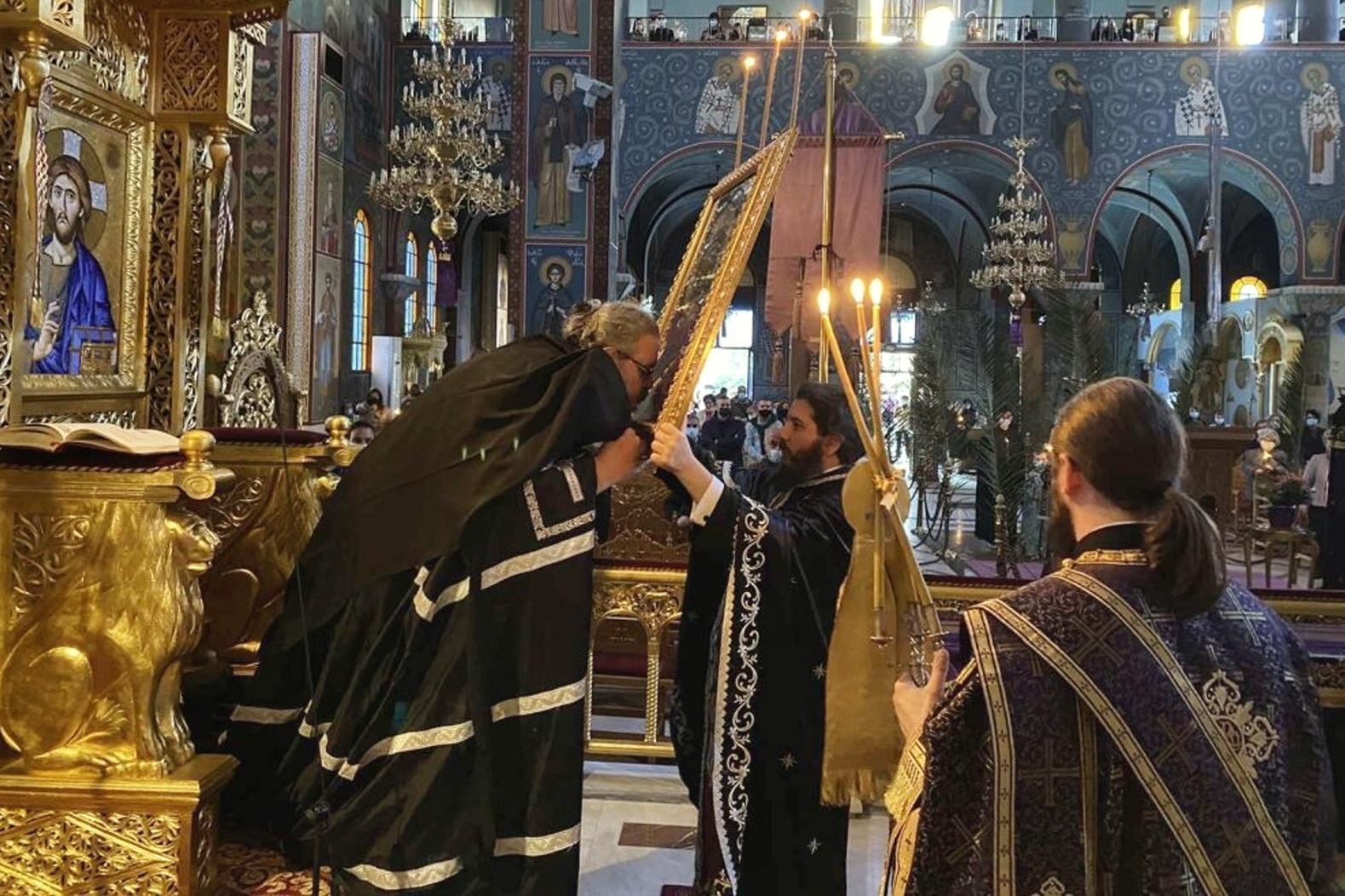"""5 - Λαρίσης: """"Ο Χριστός στην εικόνα του Νυμφίου είναι ο καθρέφτης της δικής μας ψυχής"""""""